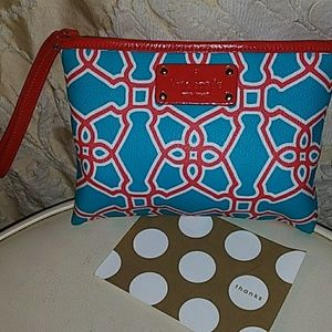 O. M. G Kate Spade Large Make Up Bag!!